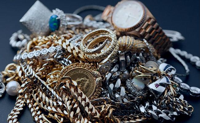 objetos valiosos joyas